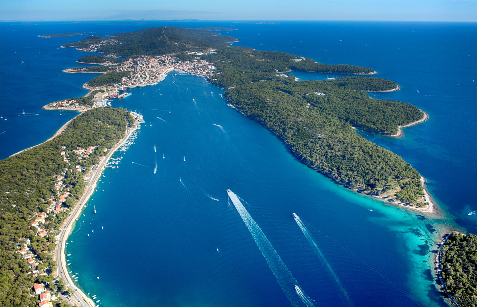 Losinj eilanden Kroatie