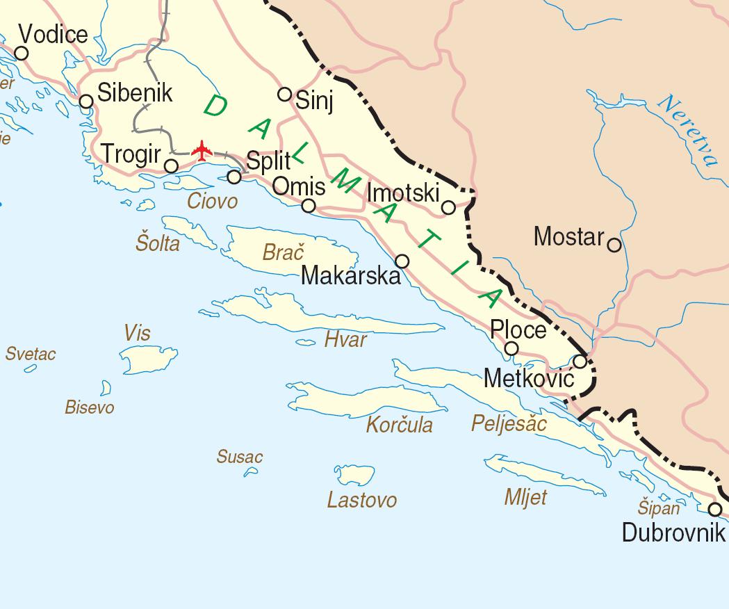zuid dalmatie